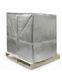 Metalized Bubble Pallet Covers